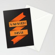 YAHWEH NISSI  Stationery Cards