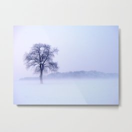 Winterzeit Metal Print