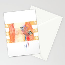 In the end, we will all be judged by the courage of our hearts. Stationery Cards