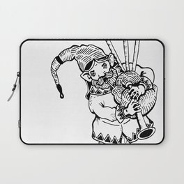 The Travelling Entertainer Laptop Sleeve