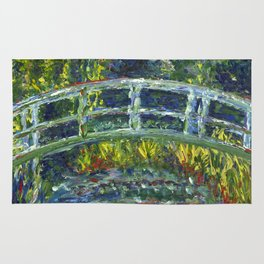 Monet Interpretation Rug