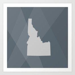 Idaho State Art Print