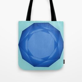 Blue Gem Tote Bag