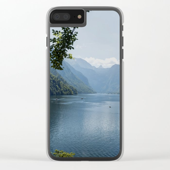 Germany, Malerblick, Mountains - Alps Koenigssee Lake Clear iPhone Case