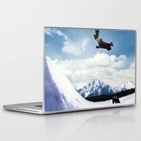 ski Laptop & iPad Skins featuring ski Mountain by Colton