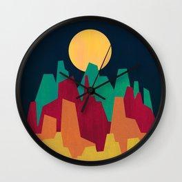 Rocky Landscape Wall Clock