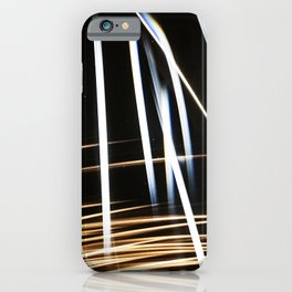Streaks Of Sunlight Pierced The Bolts of Lightning iPhone Case