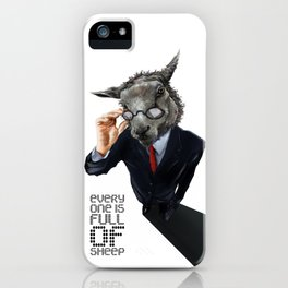 Full Of Sheep iPhone Case