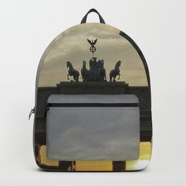 Sunset at the Brandenburg Gate, Berlin Backpack