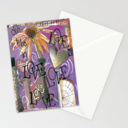 Love, Love, Love Stationery Cards