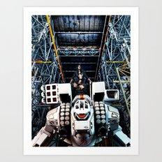 Robotech Art Print