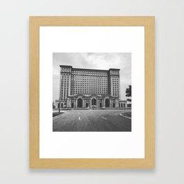 Decay Central Framed Art Print
