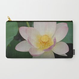 Lotus Blossom in Full Bloom Carry-All Pouch