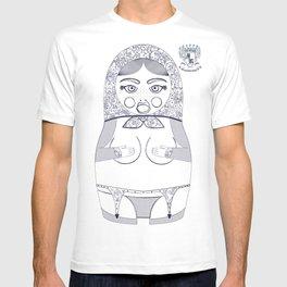 Blueprint X Matryoshka / Nesting Doll T-shirt