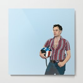 Jemaine Clement 7 Metal Print
