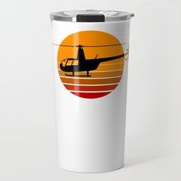 R44 Helicopter Heli Pilot Aviation Helo Travel Mug
