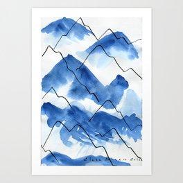 Mountain #2 Art Print