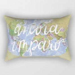 ancora imparo Rectangular Pillow