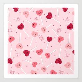 Valentine Sweetheart Art Print
