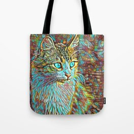 ColorMix Kitten 1 Tote Bag