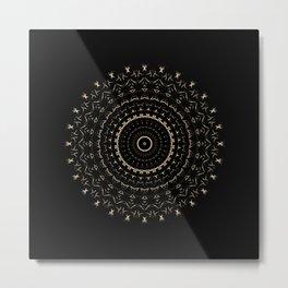 'Soul' Sacred Geometry Art Print  Metal Print