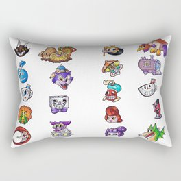 Cuphead Rectangular Pillow