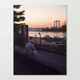 Last Sundown Canvas Print