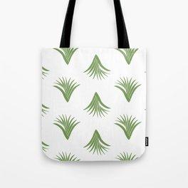 Pandanus Leaf Pattern - Green Tote Bag