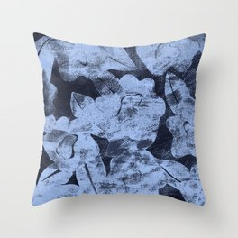 DISTRESSED FLORAL Throw Pillow