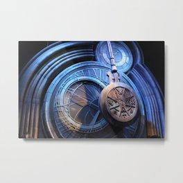 blue time Metal Print