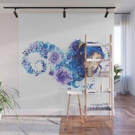 Galaxia Flora Wall Mural