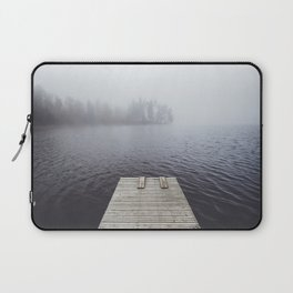 Fading into the mist Laptop Sleeve