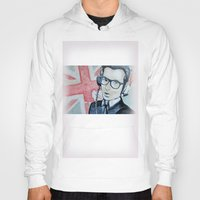 union jack Hoodies featuring UNION JACK by Vin Zzep