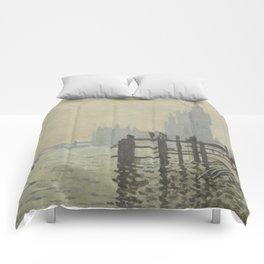 Claude Monet - The Thames Below Westminster Comforters