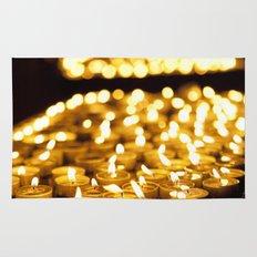 Prayer Candles in Church, Israel  Rug