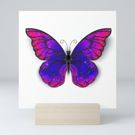 Tricolored Butterfly Mini Art Print