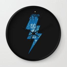 Thunder City Wall Clock
