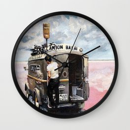 King of the Mountains. Tour de France Wall Clock