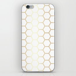 Honeycomb Gold #170 iPhone Skin