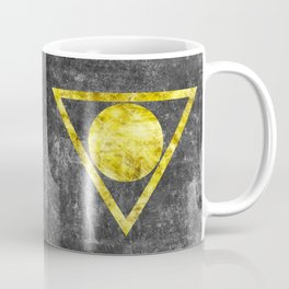 Gold on Gray 1 Coffee Mug
