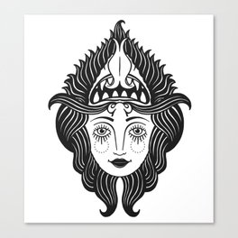 She Devil Canvas Print