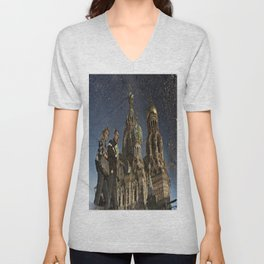 The Church of the Savior on Spilled Blood, St.Petersburg, Russia. Unisex V-Neck