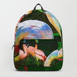 Impasto Flamingo Backpack