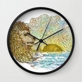 Aslan Wall Clock