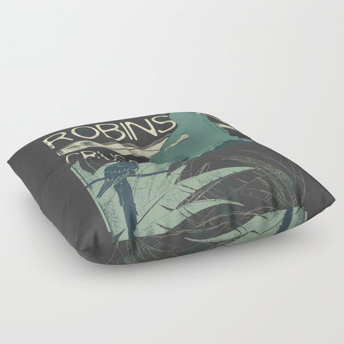 Books Collection: Robinson Crusoe Floor Pillow