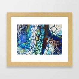 Manic Framed Art Print