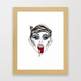 Apocalyptic Sharon Framed Art Print