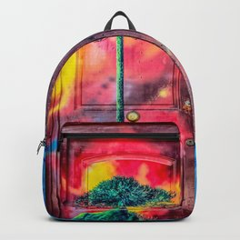 Doors Street Art  Backpack