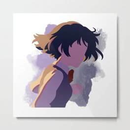 Your Name Minimalist (Mitsuha) Metal Print