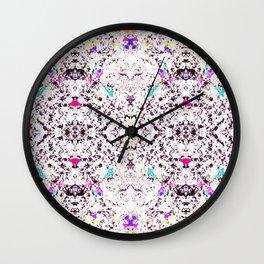 Roman Confetti Wall Clock